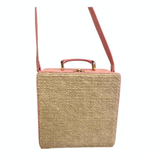 Olympia Le-tan Pink Wool Handbag