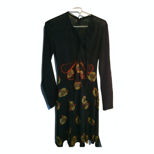 Barbara Bui Black Silk Dress