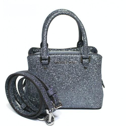 Michael Kors Grey Leather Handbag