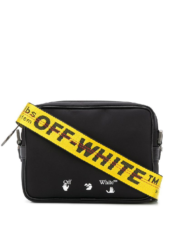 Off-white Bag In Black With Industrial Shoulder Strap