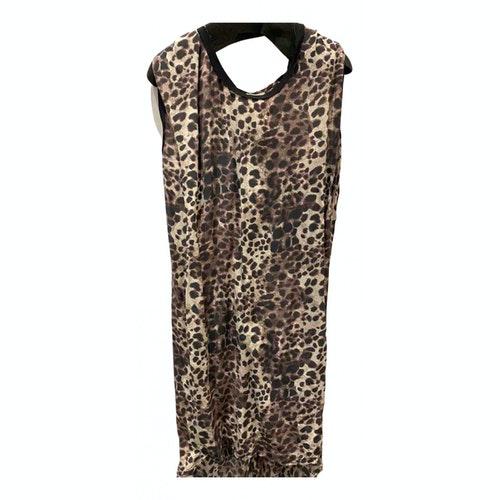 Isabel Marant Étoile Brown Silk Dress