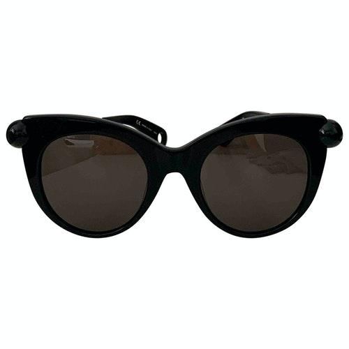 Christopher Kane Black Sunglasses