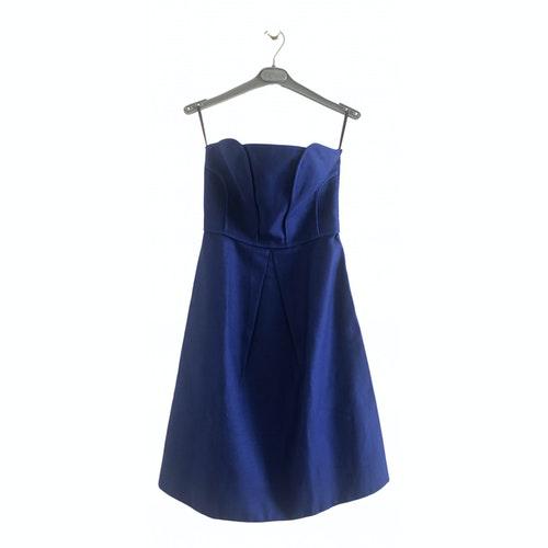 Comptoir Des Cotonniers Blue Cotton Dress