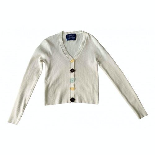 Simon Miller White Cotton Knitwear
