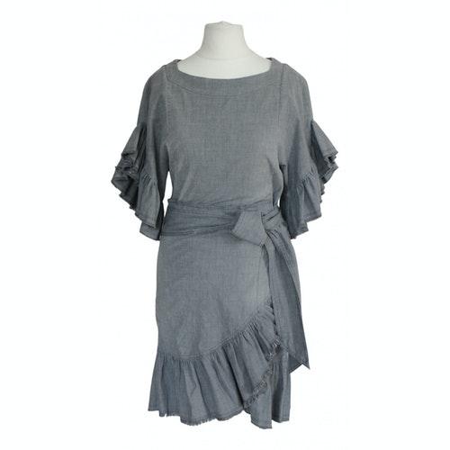 Etoile Isabel Marant Grey Cotton - Elasthane Dress