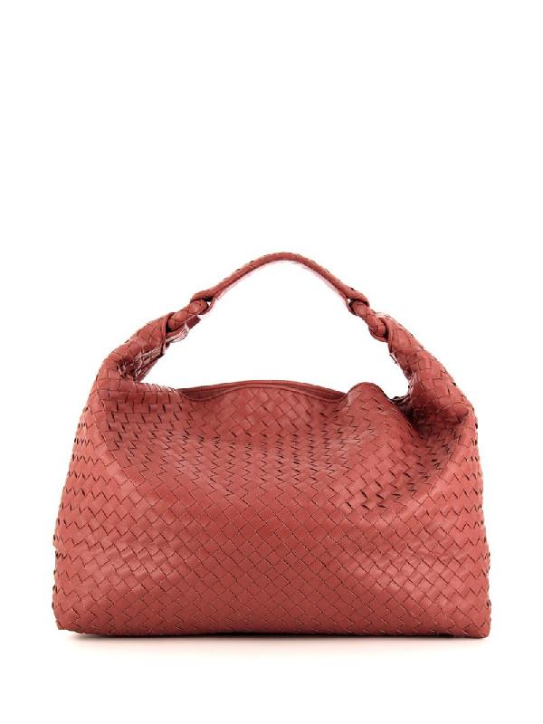 Bottega Veneta Pre-owned Sloane Tote In Pink
