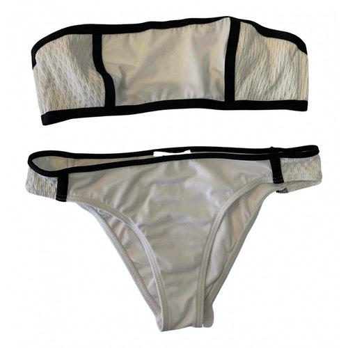Jimmy Choo White Lycra Swimwear