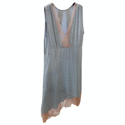Zadig & Voltaire Blue Silk Dress
