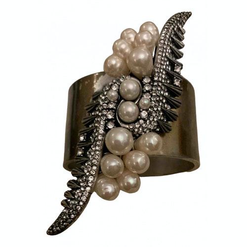 Dannijo White Pearl Bracelet