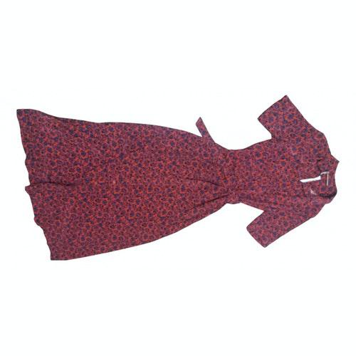 Comptoir Des Cotonniers Red Dress