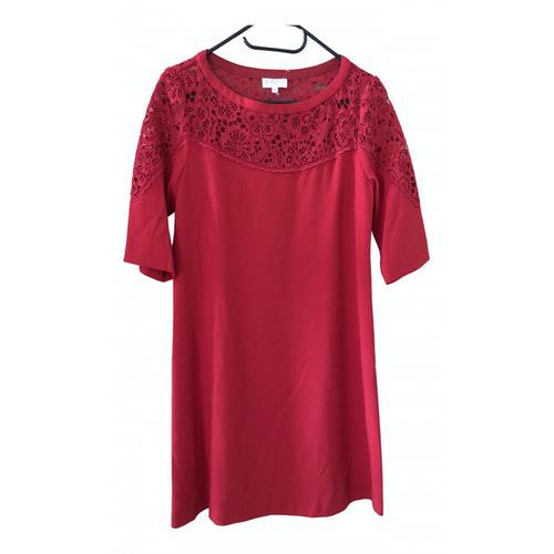 Claudie Pierlot Red Cotton Dress