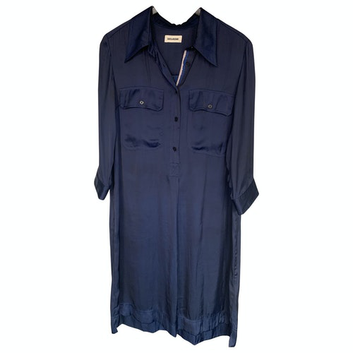 Zadig & Voltaire Spring Summer 2019 Blue Dress
