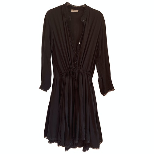 Zadig & Voltaire Fall Winter 2019 Black Cotton Dress