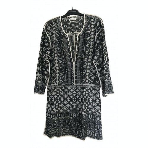 Isabel Marant Étoile Black Cotton Dress