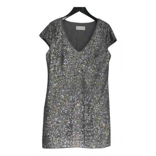 Zadig & Voltaire Silver Glitter Dress