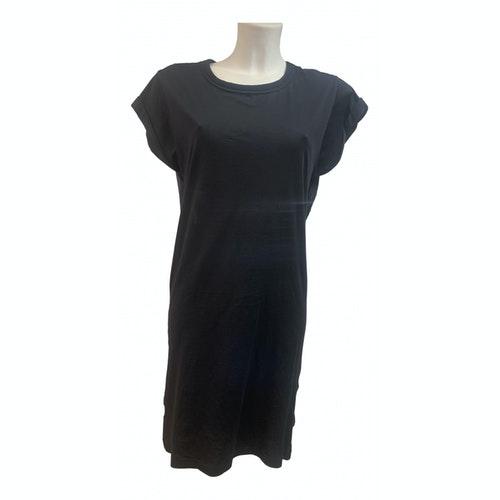Pinko Black Cotton Dress