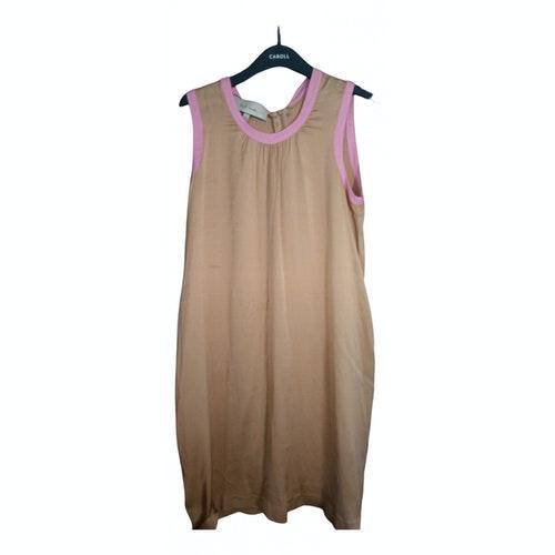 Paul Smith Camel Silk Dress