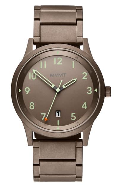 Mvmt Field Bracelet Watch, 41mm In Taupe