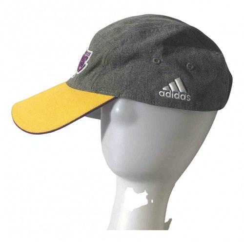 Adidas Originals Grey Cotton Hat & Pull On Hat