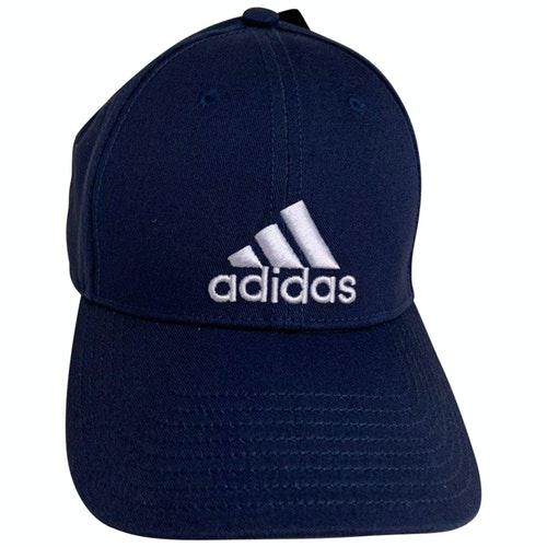 Adidas Originals Blue Cotton Hat & Pull On Hat