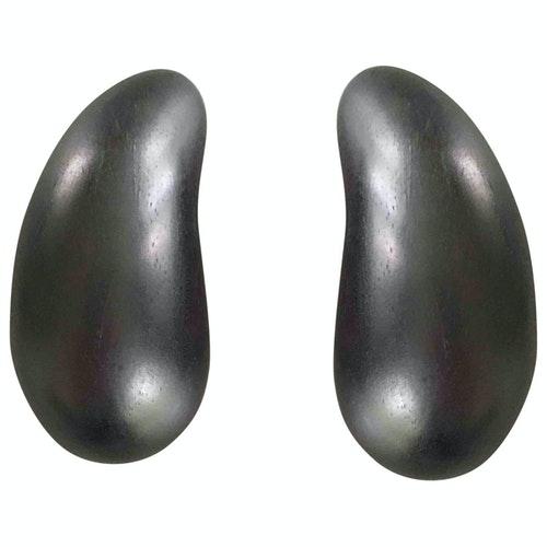 Monies Brown Wood Earrings