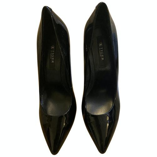 Tiger Of Sweden Black Patent Leather Heels