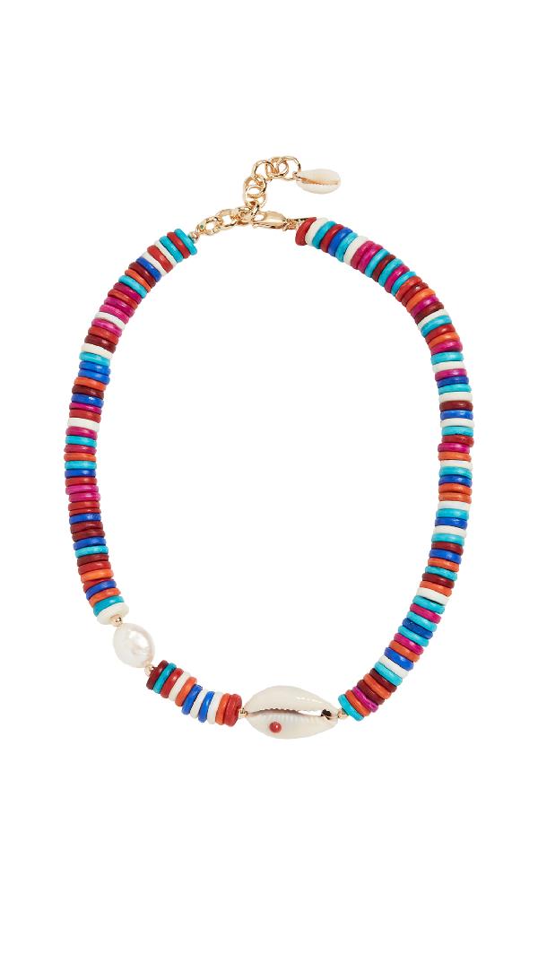 Eliou Angola Necklace In Multi