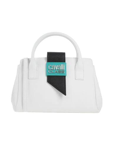 Cavalli Class Handbag In White