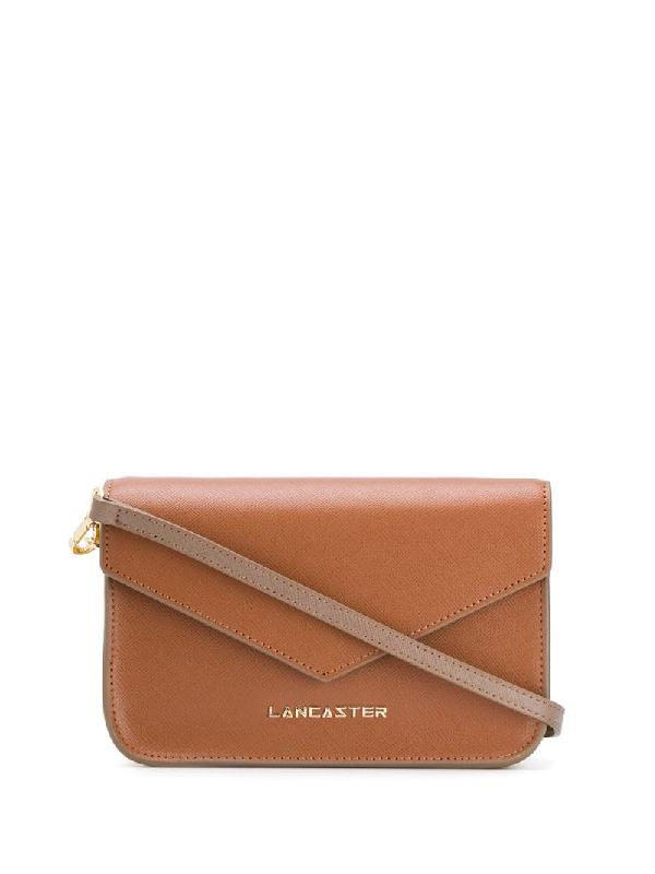 Lancaster Envelope Crossbody Bag In Brown