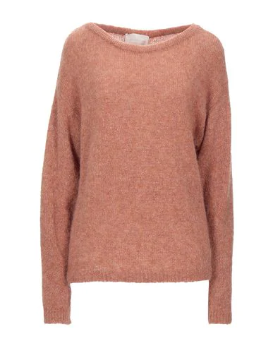 Chiara Bertani Sweater In Camel