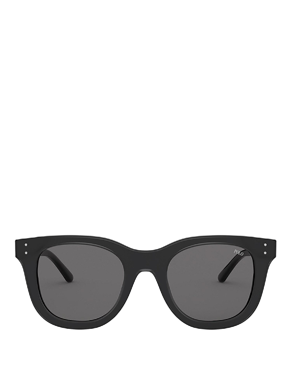 Polo Ralph Lauren Black Wayfarer Sunglasses