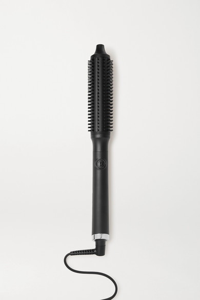 Ghd Rise Professional Hot Brush - Us 2-pin Plug In Black