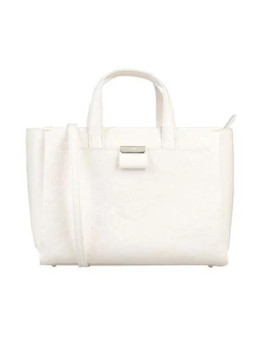 Cavalli Class Handbag In Ivory