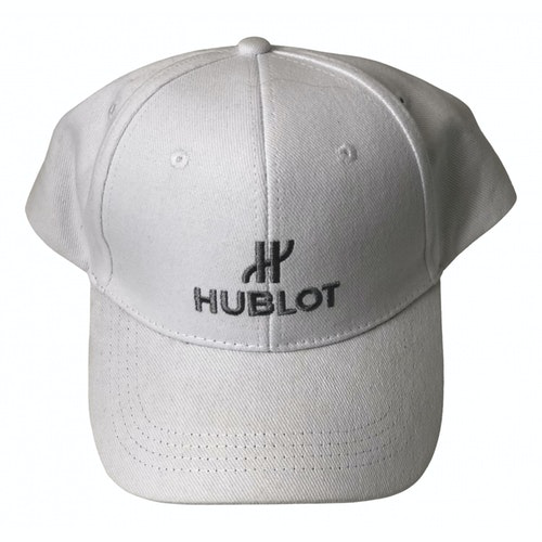 Hublot White Cotton Hat & Pull On Hat