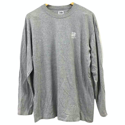 Y's Grey Cotton T-shirts