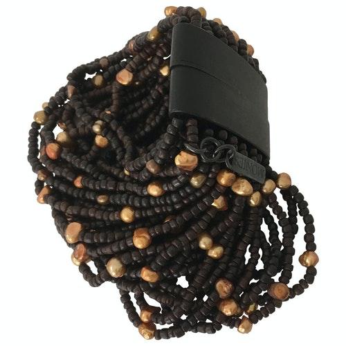 Monies Brown Pearls Bracelet