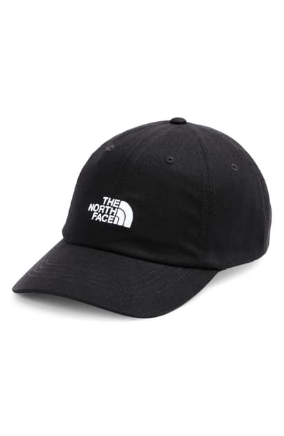 The North Face Norm Baseball Cap In Tnf Black