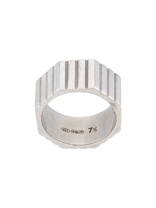 Ivi Octagon-shaped Ring In Silver