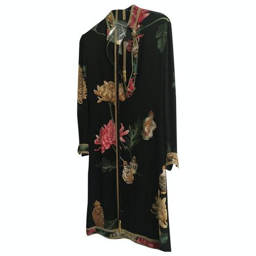 Leonard Black Silk Dress