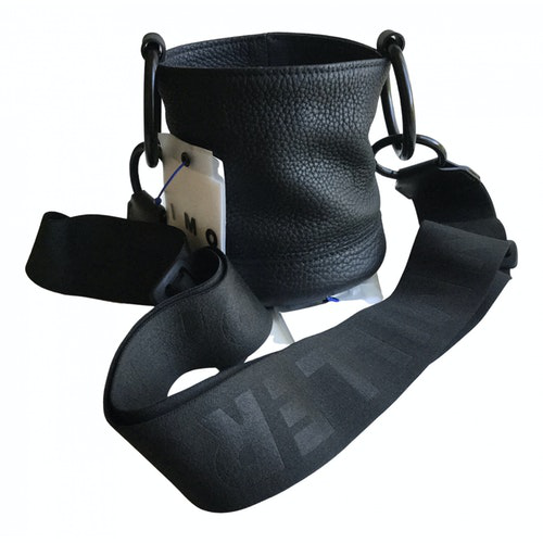 Simon Miller Small Bonsai Black Leather Handbag