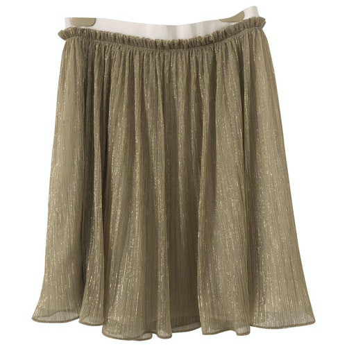 Claudie Pierlot Gold Skirt