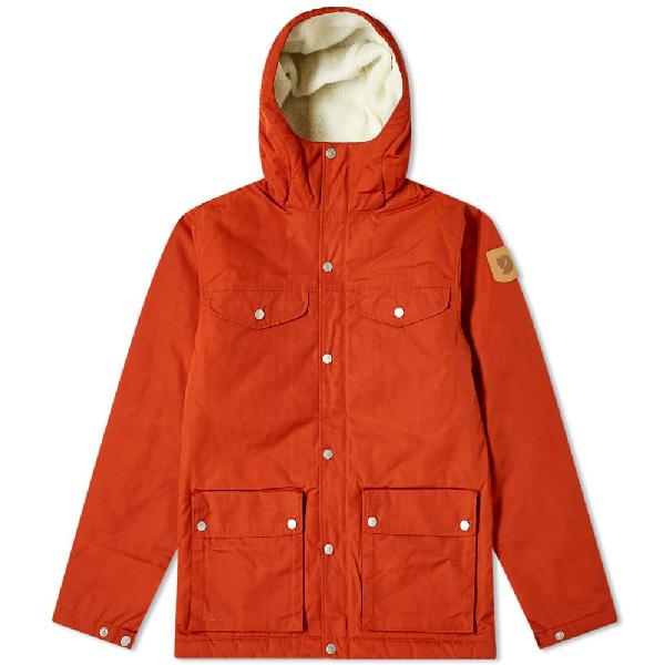 Fjall Raven Fjällräven Greenland Winter Jacket In Orange