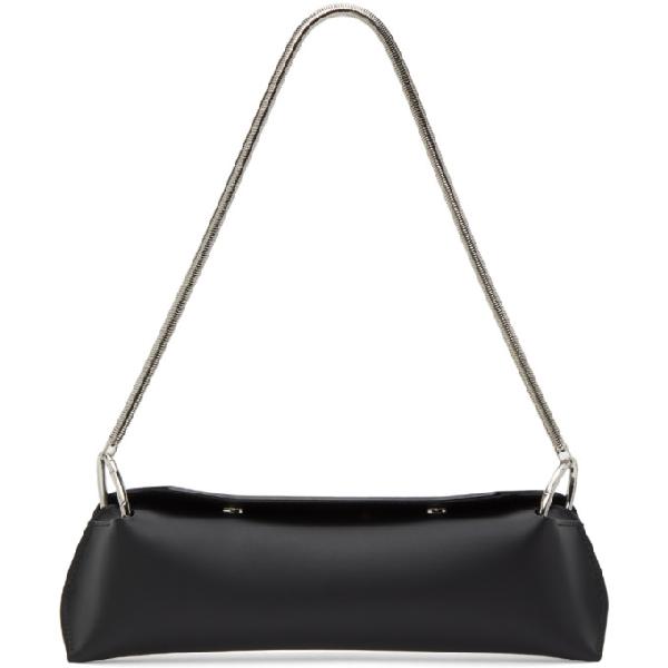 Venczel Black Chain Elan Shoulder Bag