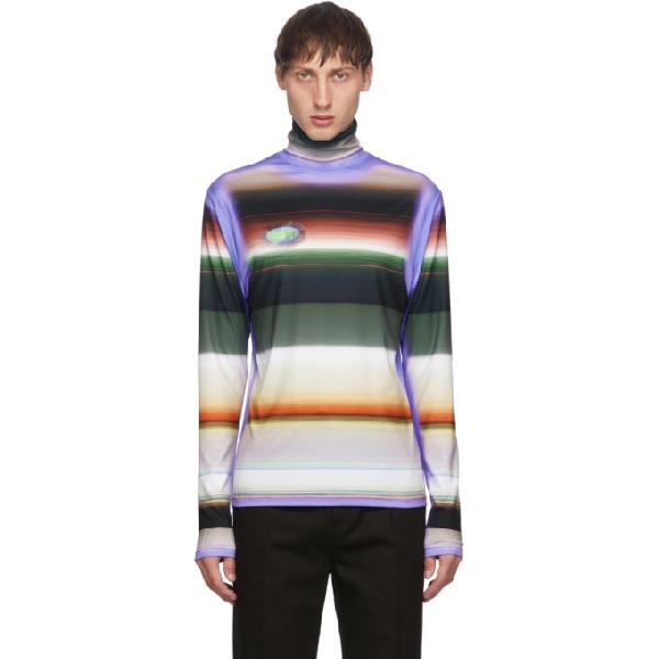 Keenkee Multicolor Stripes Turtleneck