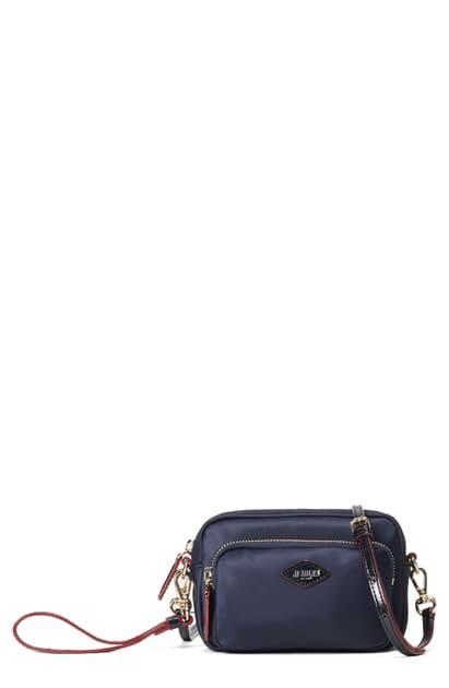 Mz Wallace Mini Gramercy Crossbody Bag In Blue