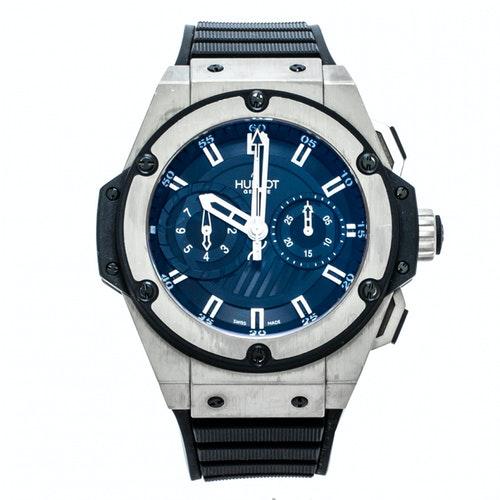 Hublot Black Titanium Watch