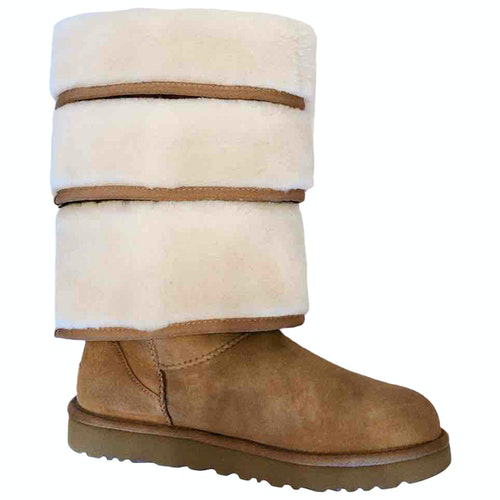 Y/project Brown Leather Boots