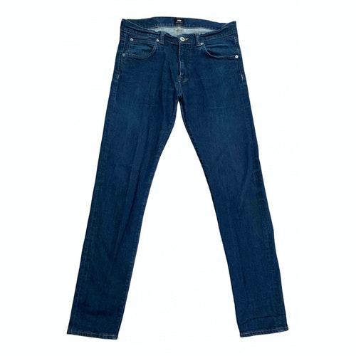 Edwin Blue Cotton - Elasthane Jeans