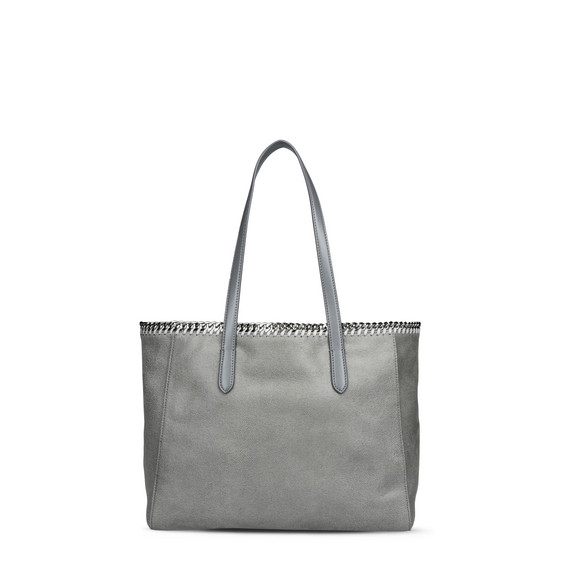 Stella Mccartney Falabella Tote In Light Gray