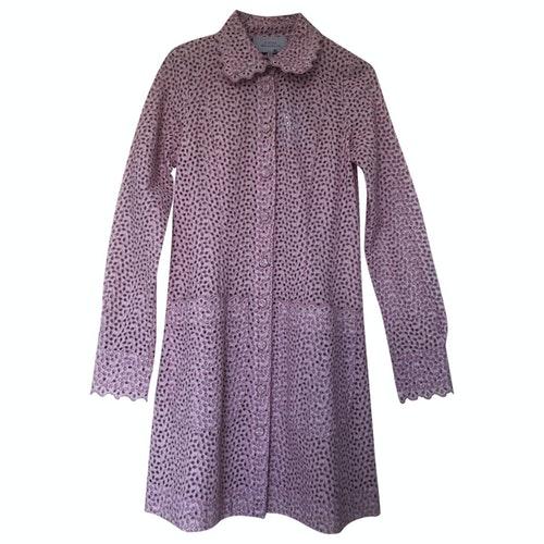 Luisa Beccaria Pink Cotton Dress